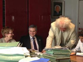 SIGNATURE AT THE NOTARY, 1 JUNE 2012, BRUSSELS